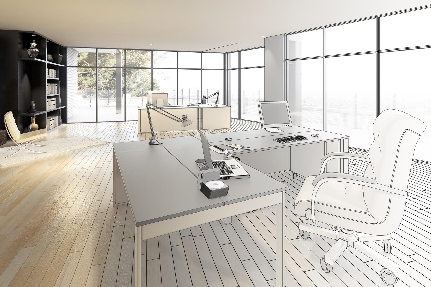 Luxury Office Area (construction)